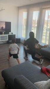 Houda Loukili sport thuis
